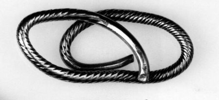 Postcard of Bracelet (fragment).