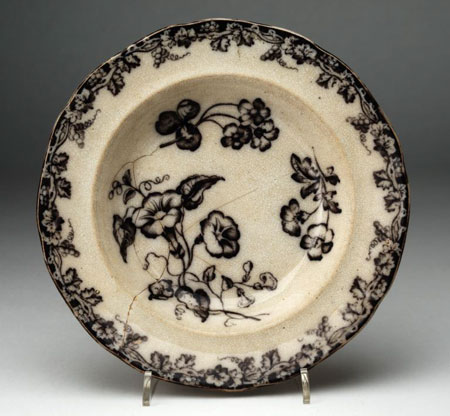 Postcard of Soup plate.