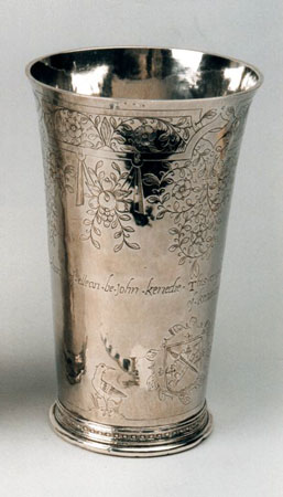 Postcard of Communion cup.
