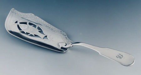 Postcard of Silver fish slice.