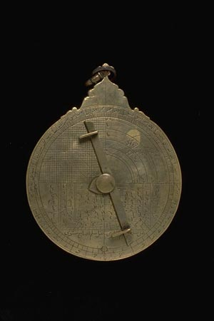 Postcard of Astrolabe (back).