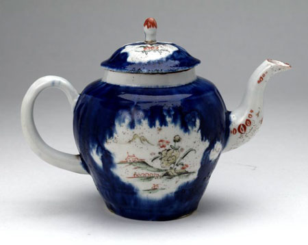 Postcard of Teapot.