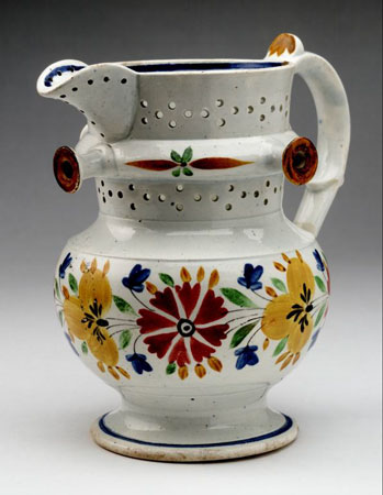 Postcard of Puzzle jug.