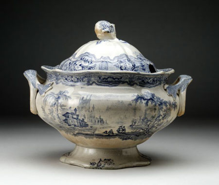Postcard of Tureen.