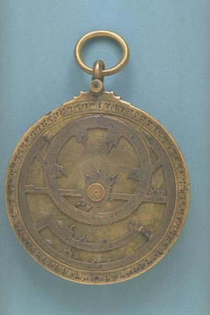 Postcard of Astrolabe (front).