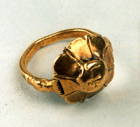 Postcard of Ring.