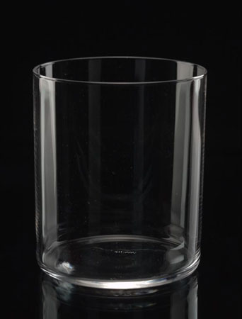 Postcard of Whisky tumbler.